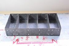 VINTAGE METAL SECTION TRAY - SMALL SECTION BOX - FIVE SECTION TRAY - METAL TRAY