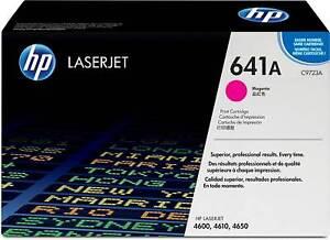 Genuine HP 641A Toner Cartridge LaserJet - C9720A C9721A C9722A C9723A