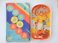 1980's Board Game Vintage USSR Soviet Russian Table Billiard Children's Kids Toy