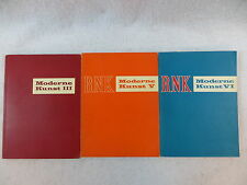 Lot of 3 MODERNE KUNST III V & VI  R.N. Ketterer 1966 German Text