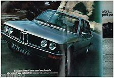 PUBLICITE ADVERTISING 095  1973  BMW    la 520i  (2p)