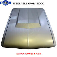 "67-68 Mustang "" Eleanor "" Style STEEL Hood - Must have Modified Nose NEW TOOLING"