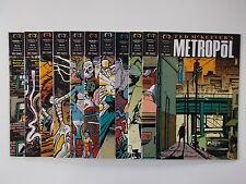 11x Ted JEWEL's Metropol-volume 1 - 11-US Comic/ad 1