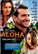 USED  DVD // ALOHA // Rachel McAdams, Bill Murray, John Krasinski