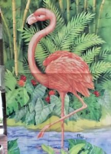 Flamingo Tropical Standard House Flag by NCE #23234