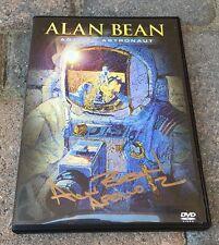 APOLLO 12 MOONWALKER ALAN BEAN ARTIST ASTRONAUT DVD NEW SIGNED AUTOGRAPHED COA