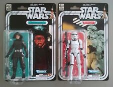 Star Wars 40Th Black Series 6 Inch 1St Rel Age Variant Stormtrooper Dsc Set Lot