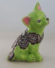 Mexican  Talavera Chihuahua Dog Handmade  Decorative Folk Art Hand Painted  # 15