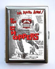 Choppers Hot Rod Cigarette Case Wallet Business Card Hold rockabilly rock n roll