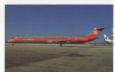Aero Mexico Douglas MD-82 at Miami Aviation Postcard, A634