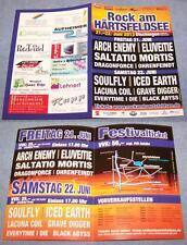 Rock am Härtsfeldsee  2013 - Promotion Flyer - Arch Enemy, Eluveitie, Soulfly