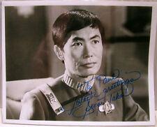 George Takei-Hikaru Sulu Signed Photograph RARE