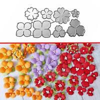 Flowers Metal Cutting Die Stencil DIY Scrapbooking Paper Card Embossing Craft CH