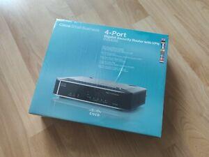 Cisco RVS4000 4-Port 1000 Mbps Gigabit Verkabelt Router VPN firewall IPS