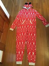 Disney Mickey Mouse Bodysuit Pajama for Adults Holiday Pajamas PJs Large NWT