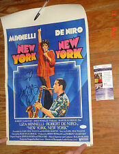 Liza Minnelli Signed New York New York 14x22 Poster JSA CERT COA PROOF