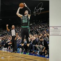 Autographed/Signed GORDON HAYWARD Boston Celtics 16x20 Photo Fanatics COA Auto