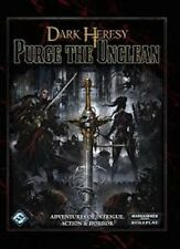 Dark Heresy, Purge the Unclean, softcover, Fantasy Flight, Brand NEW