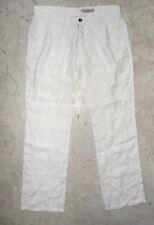 Pantalone Uomo JECKERSON  IN LINO Tg. 30 Made in Italy  COMPRALO SUBITO