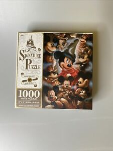 Disney Mickey Mouse Through the Years Signature Puzzle 1000 Pieces Disney Parks
