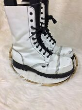 Underground Rangers Steel Toe BOOTS getta grip shellys Men's UK 9 US 10 RARE