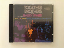BARRY WHITE Together Brothers Original Motion Picture Soundtrack CD