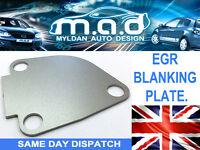 VAUXHALL EGR VALVE BLANKING PLATE MOVANO VIVARO 1.9 DCi DTi BLOCK OFF BLANK