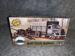 Vintage MPC Anti-Tank Battery 1/76 Scale Model Kit #1-6203
