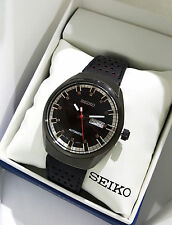 SEIKO Men Recraft Series Automatic Watch Black leather SNKN45 $265 NEW W/ Box