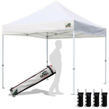 New listing 10x10 Commercial Ez Pop Up Canopy Outdoor Sunshade Party Tent Gazebo - White