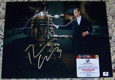Peter Capaldi DR WHO Signed Autographed Auto 11x14 Photo Global GAI GA GV COA!