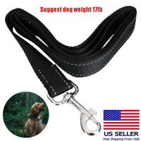 Heavy Duty Braided Nylon Dog Leash Training & Walking fr Small Medium Large Dogs