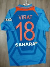 Team India Cricket Virat Kohli Nike Jersey Size XL