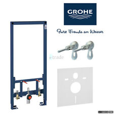 GROHE RAPID SL WALL HUNG BIDET FRAME 1.13M WITH WALL BRACKETS AND INSULATION MAT