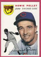 1954 Topps Archives #89 Howie Pollet - Chicago Cubs