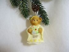 Cherished Teddies Ornament 2007 Dated Bell Tis The Season To Be Filled. Nib