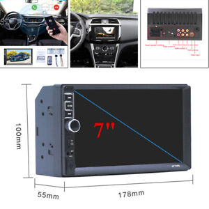 """7"""" Android Car Stereo Radio Audio MP5 Player Bluetooth USB 2.0 for Android / IOS"""