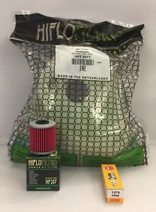 Service Kit For KAWASAKI KX250F (2006 to 2010) Air / Oil Filter and Spark Plug