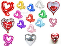 "18"" - 32"" Heart Shape Foil Helium Foil Balloons For Party Birthday Love Baloons"