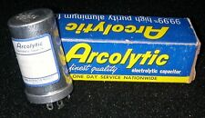 New Arcolytic Aluminum Electrolytic Capacitor 150 MFD/UF 300WV DC