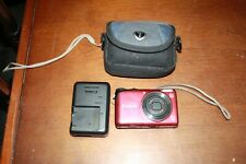 CANON A2200 14.1MP DIGITAL CAMERA W/ BATTERY, CHARGER AND CASE FREE SHIPPING