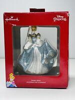Hallmark Disney Princess Cinderella Blown Glass Christmas Ornament