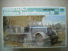TRUMPETER-1/35-#01514- EARLY VERSION SDKFZ.7 MITTLERE ZUGKRAFTWAGEN 8T