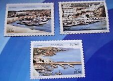 ALGERIA 2009 Mediterranean Sea Ports Fishing Ports  MNH Set  Unused stamps.