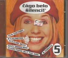 RARE CZECH CD CAGLO BELO SILENCI '96 OZZY OSBORNE FUN FACTOEY 2 UNLIMITED LEELA