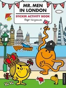 Mr. Men in London Sticker Activity Book by Roger Hargreaves,Egmont Publishing UK