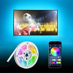 Ruban led TV 5m bande16 couleurs 5050 RGB USB pour HDTV pc maison fete Synchro