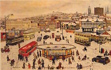 Terry Gorman Mounted Print - CITY FROM MIDLAND STATION