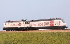 TRIX 22391 SBB-CFF set locomotive Re 460 + Re 420 livrea  GOTTARDO 2016