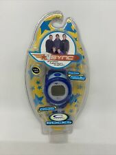 Nsync N Sync 2000 C Watch Animated Lcd Wristwatch Rare! Unopened